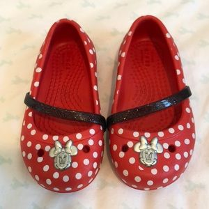 Crocs Minnie Mouse Shoes